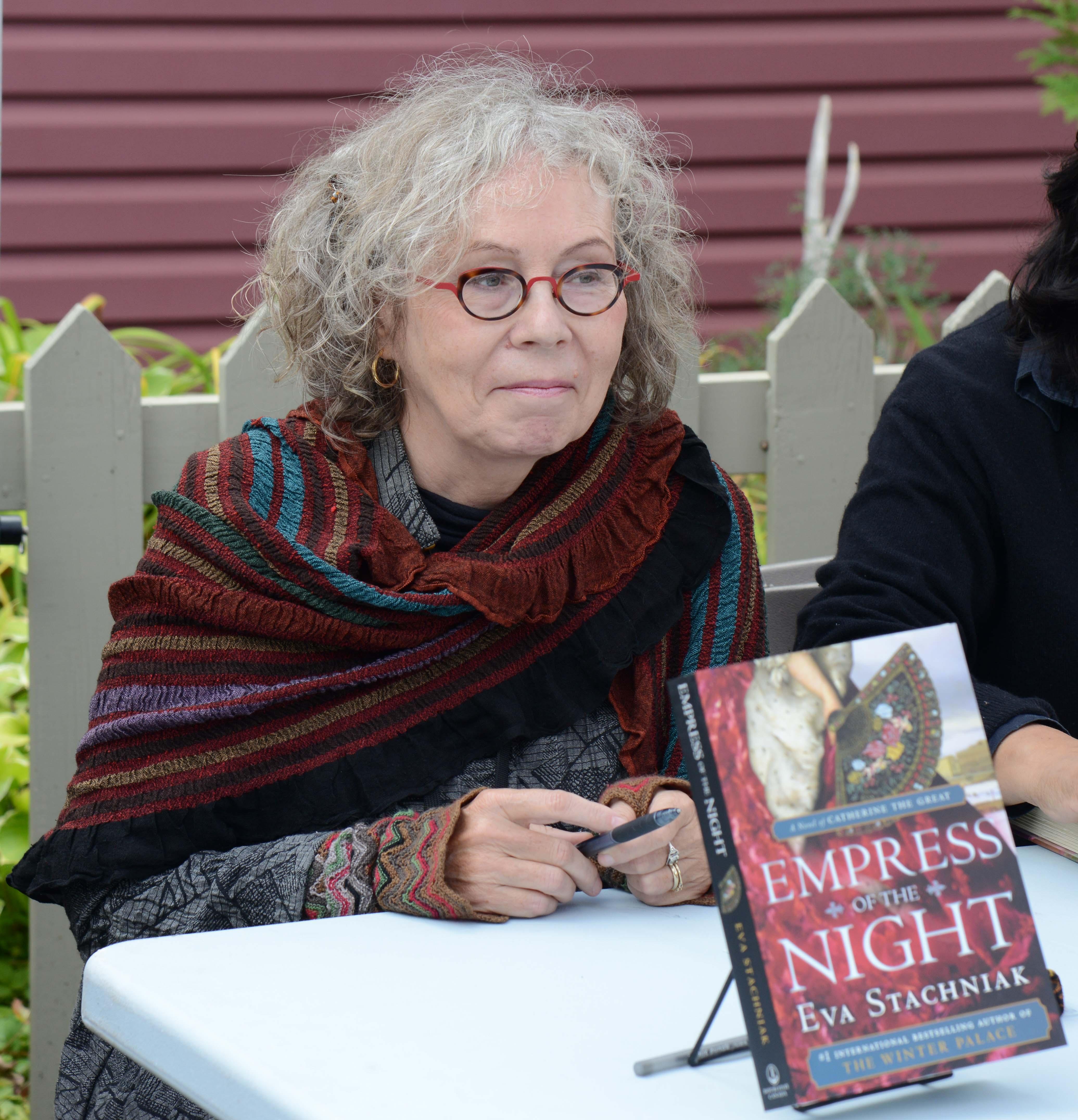 Stachniak at the [[Eden Mills Writers' Festival]] in 2014