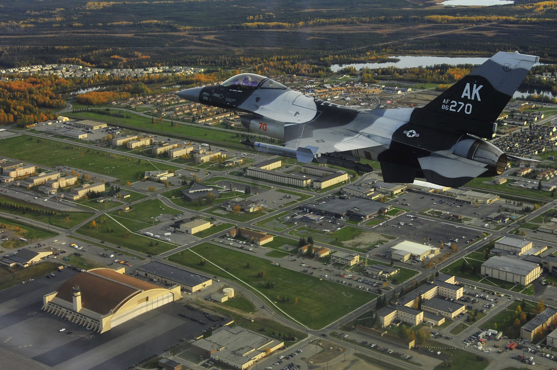 Eielson Air Force Base Wikipedia - Map of us army bases in virginia