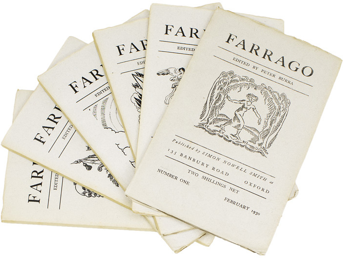 Farrago, published by Simon Nowell Smith
