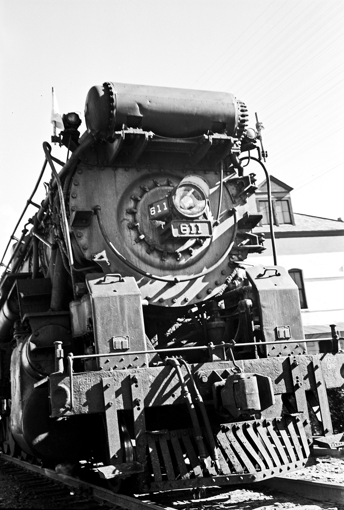 File:Front of Locomotive 611, Texas and Pacific Railway ... Pacific Railway Company