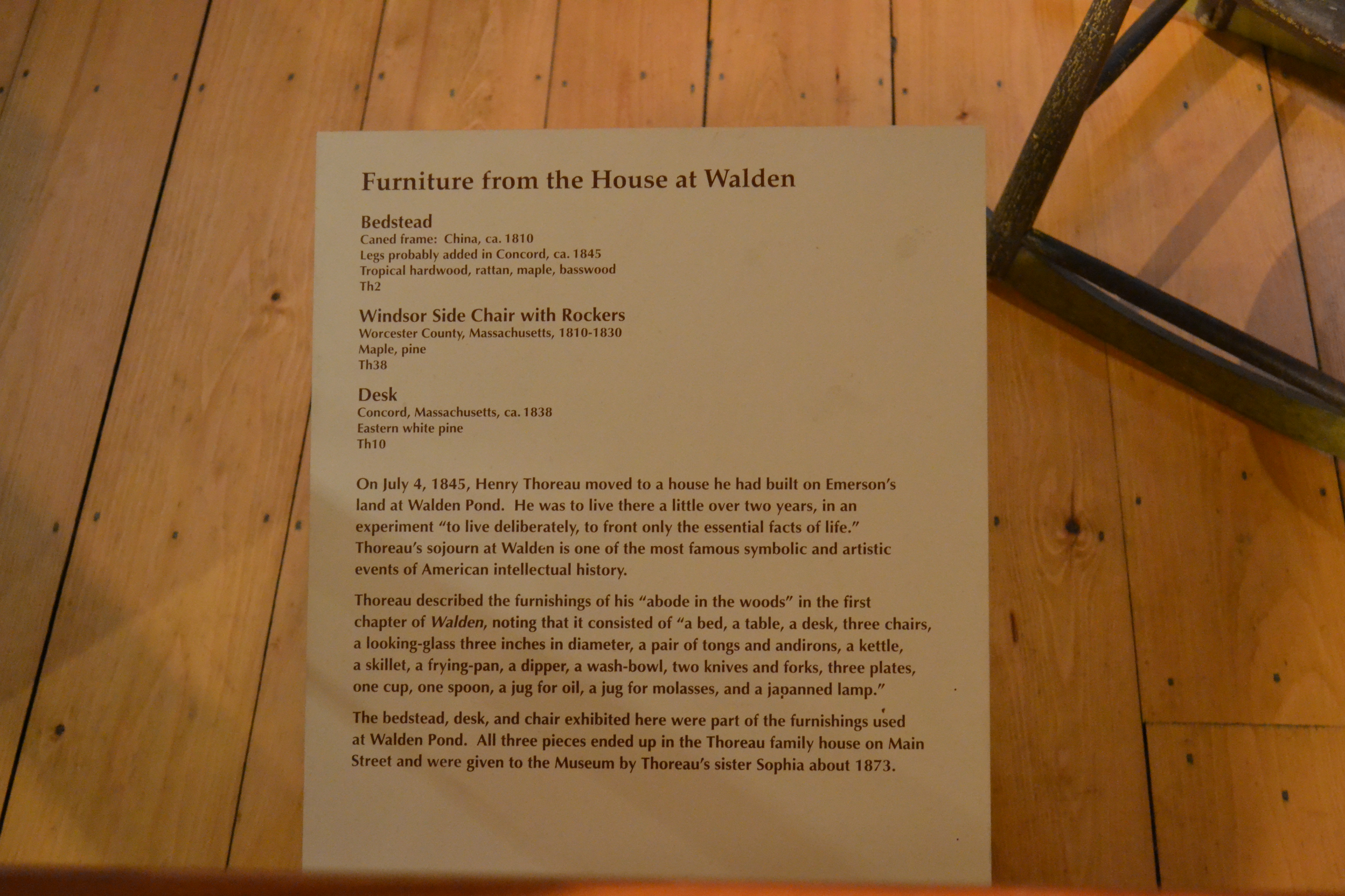 File:Furniture From The House At Walden