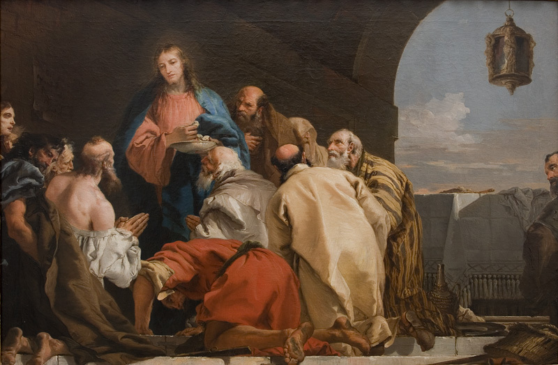 Giovanni Domenico Tiepolo - The Institution of The Eucharist - KMSsp160 - Statens Museum for Kunst.jpg