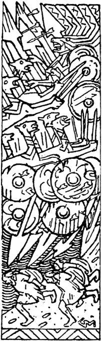 File Harald Haarfagres saga - vignett Slaget i Hafrsfjord - G. Munthe.jpg 1649457ad9a64