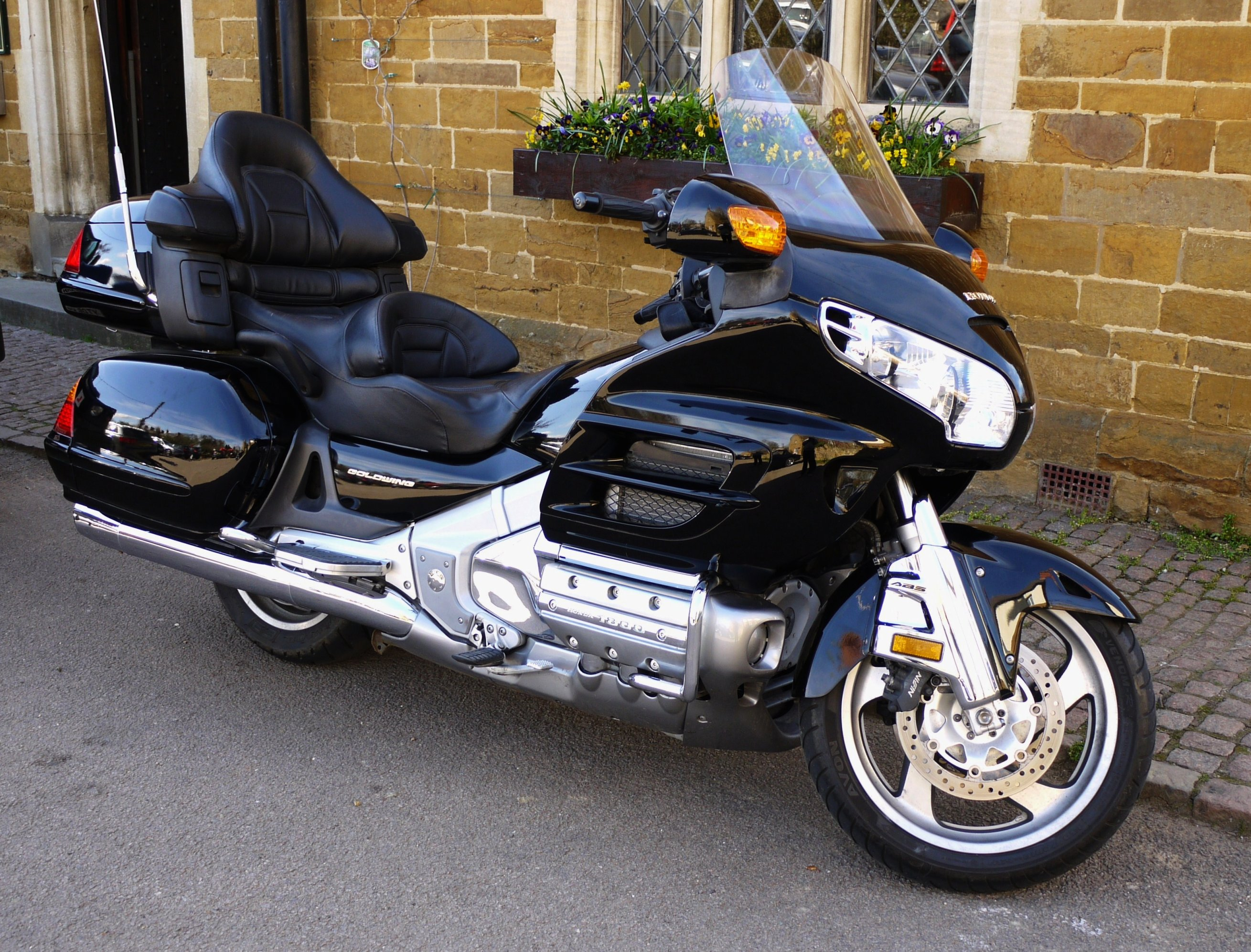 File:Honda Gold Wing (gold even when black) - Flickr ...