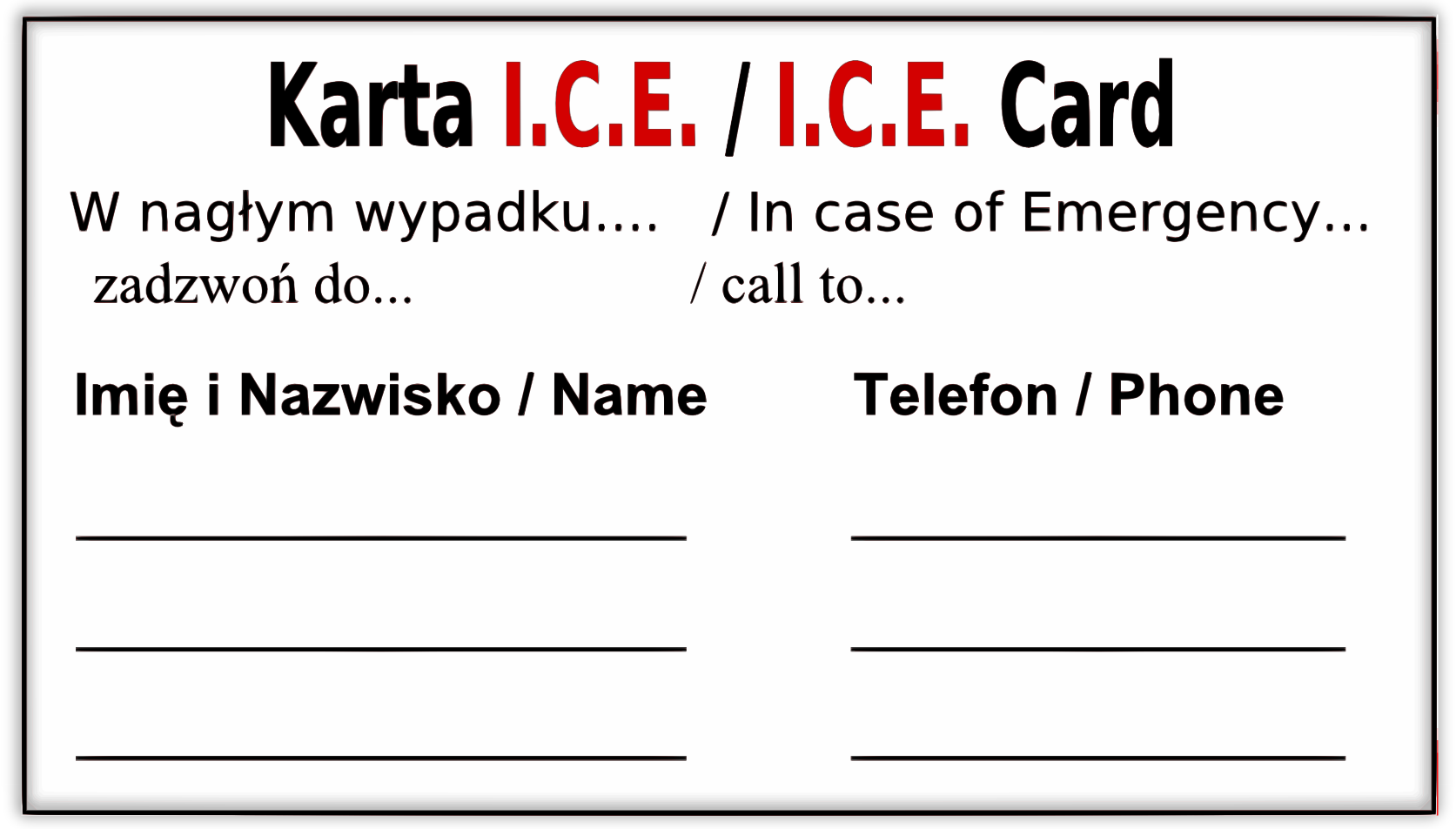 Ice card plc
