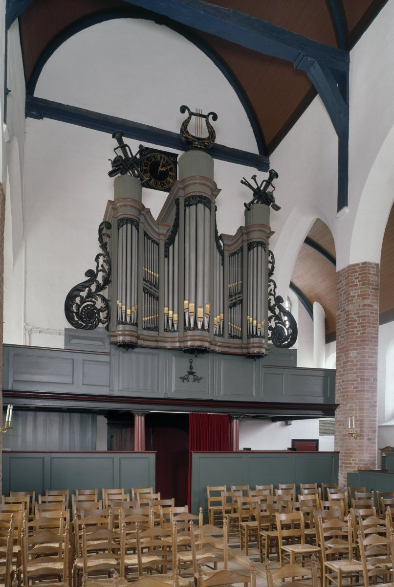 File interieur aanzicht orgel orgelnummer 945 maurik for Interieur 806