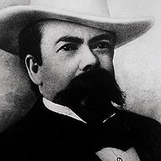 Jack Daniel, founder of Jack Daniel's whiskey