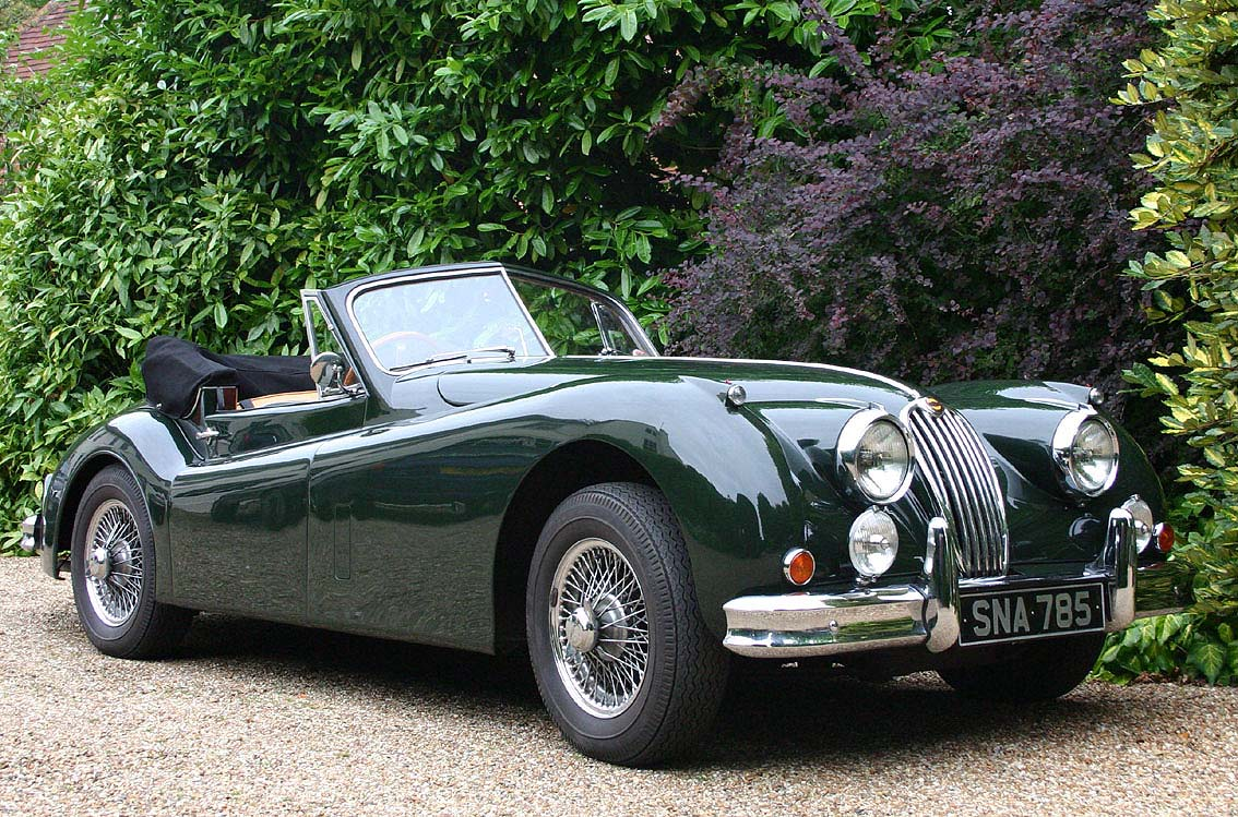 file jaguar xk140 convertible classic car hampshire wikimedia commons. Black Bedroom Furniture Sets. Home Design Ideas