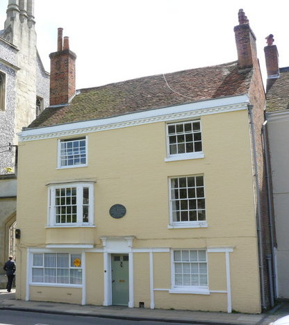 8 College Street in Winchester where Austen lived her last days and died Jane Austen's House - geograph.org.uk - 1314316.jpg