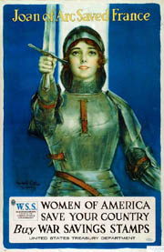 """Joan of Arc Saved France,"" a 1918 U..."