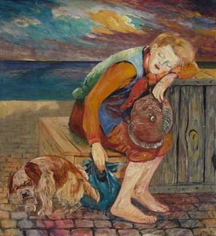 File:Johannesen - Landstreicher mit Hund.jpg