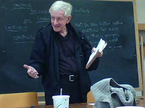 Professor Margolis at Temple University, 2007