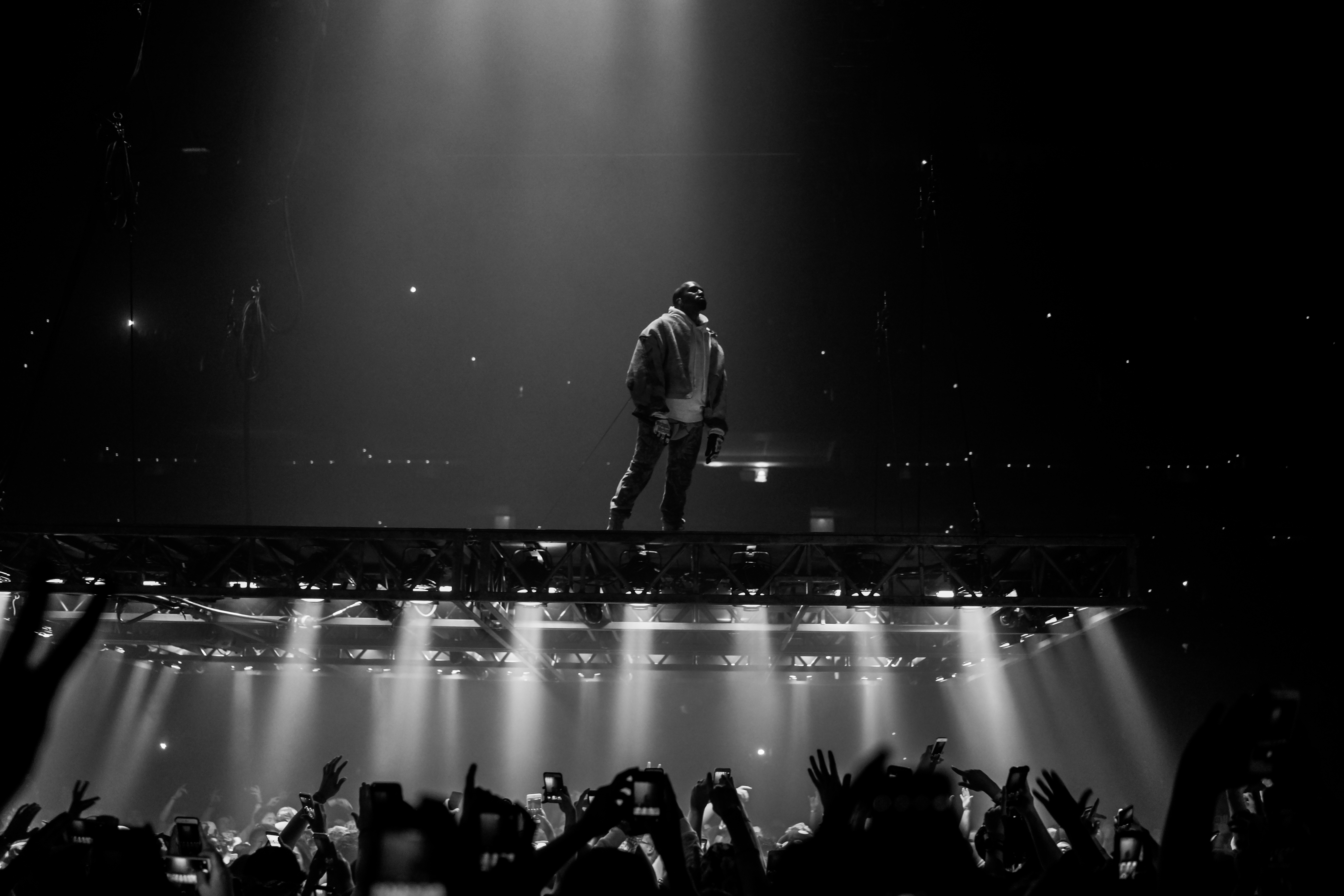 Attractive File:Kanye West Saint Pablo Tour TD Garden 2016 15 Nice Look