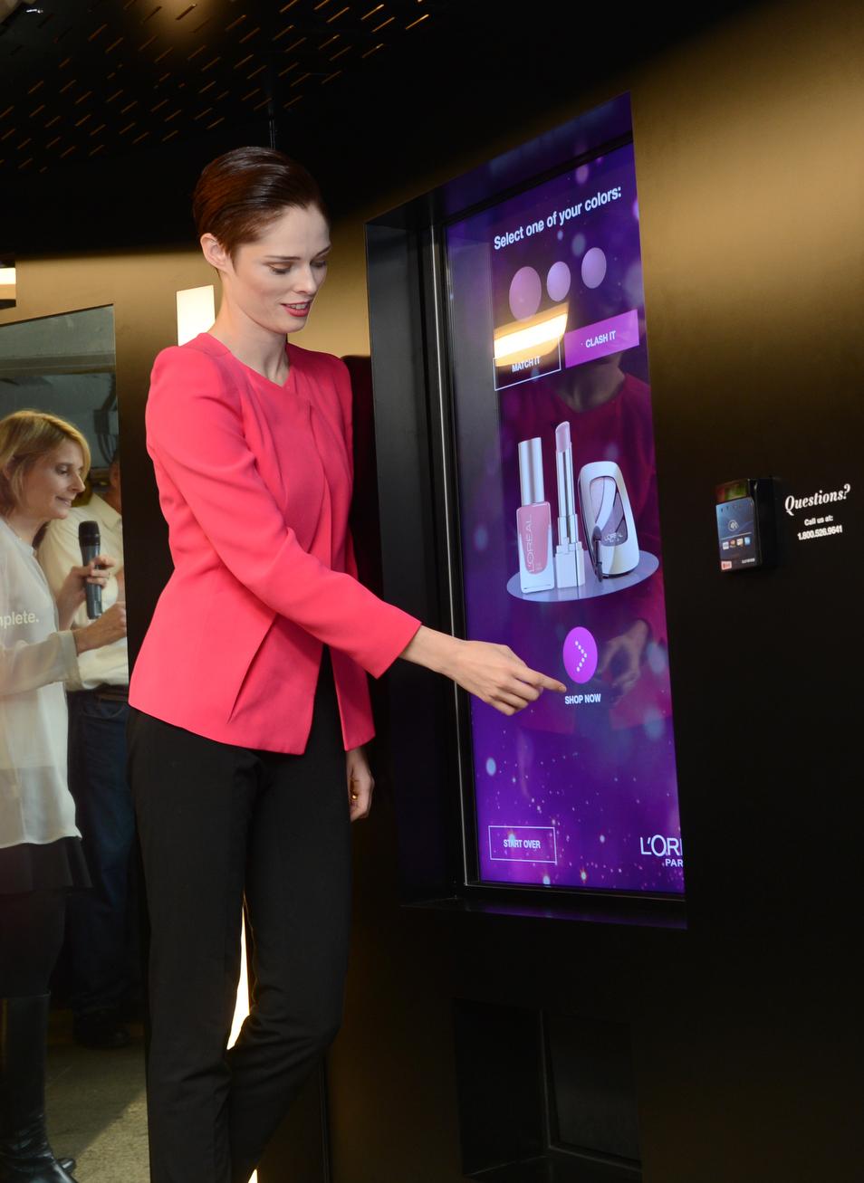Interactive Kiosk In Hotel Rooms