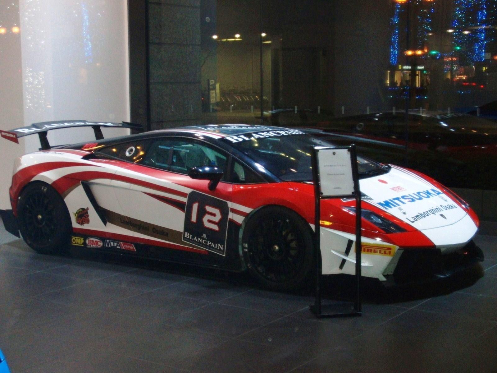 File:Lamborghini Gallardo Super Trofeo ,which is entering ...