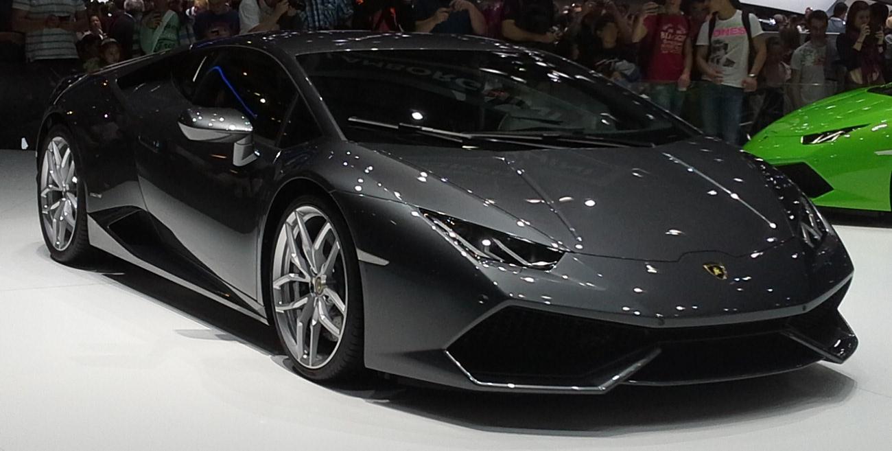 lamborghini hracan geneva - Lamborghini Huracan Grey