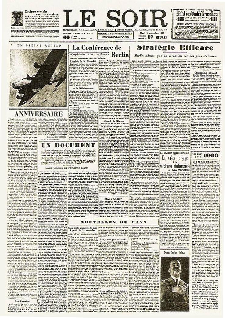 File le faux soir du 9 novembre wikimedia commons - Le journal du pays d auge ...