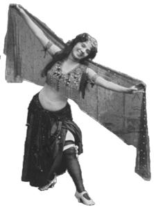 Ashea Wabe is seen here as Little Egypt, in one of a series of photos by Benjamin Falk.