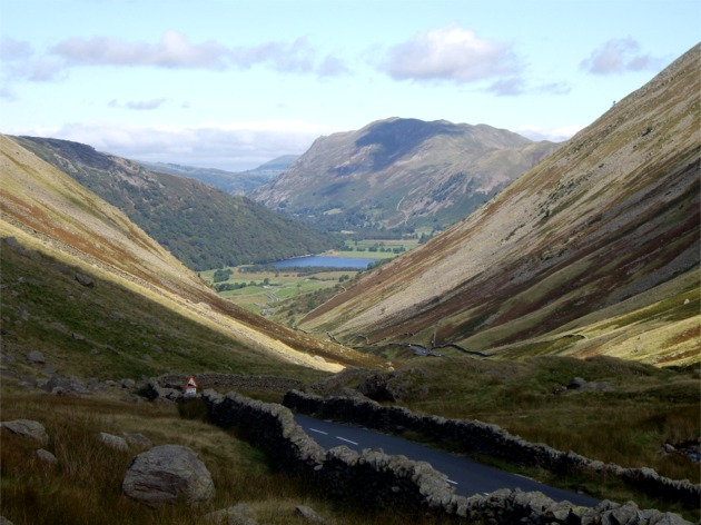 Looking down Kirkstone Pass towards Brothers Water - geograph.org.uk - 549431