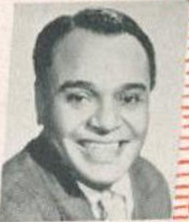 Lucky Millinder American rhythm and blues and swing bandleader