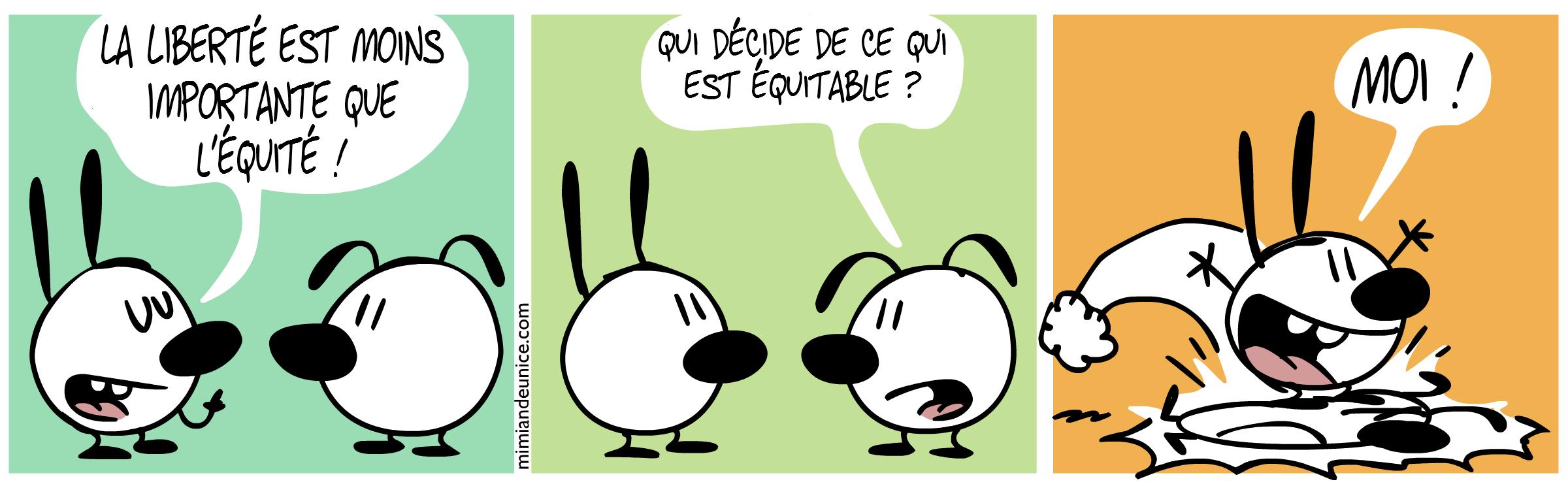 BD caricaturale sur le droit d'auteur