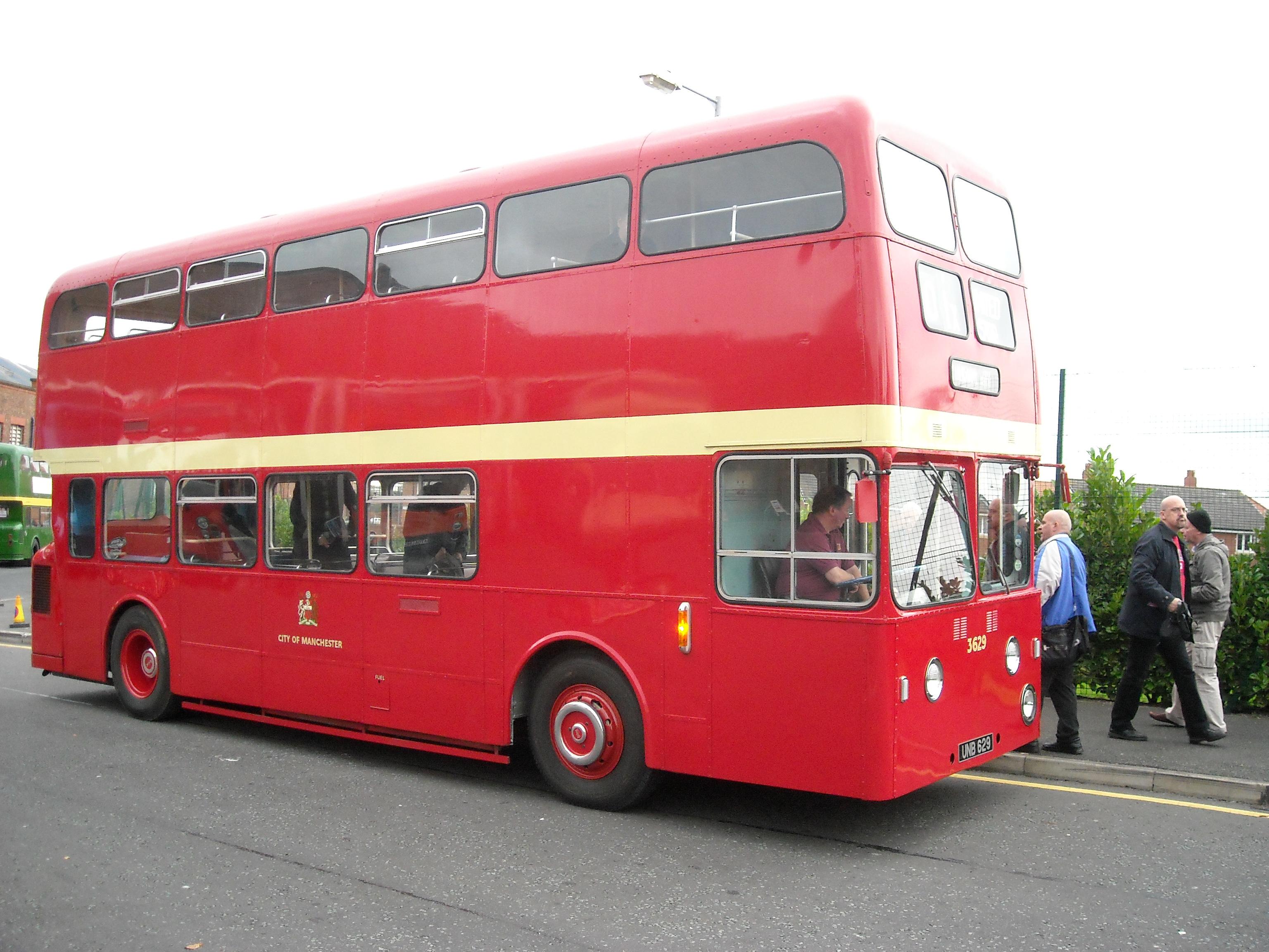 File:Manchester City Transport bus 3629 (UNB 629), MMT Atlantean 50 event
