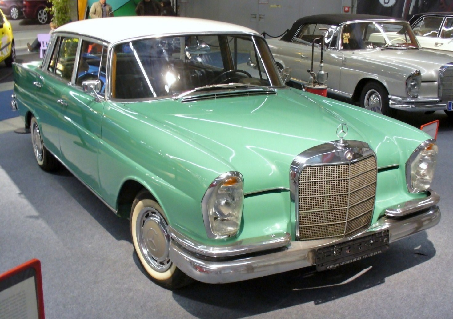 Mercedes Benz S Class Model History