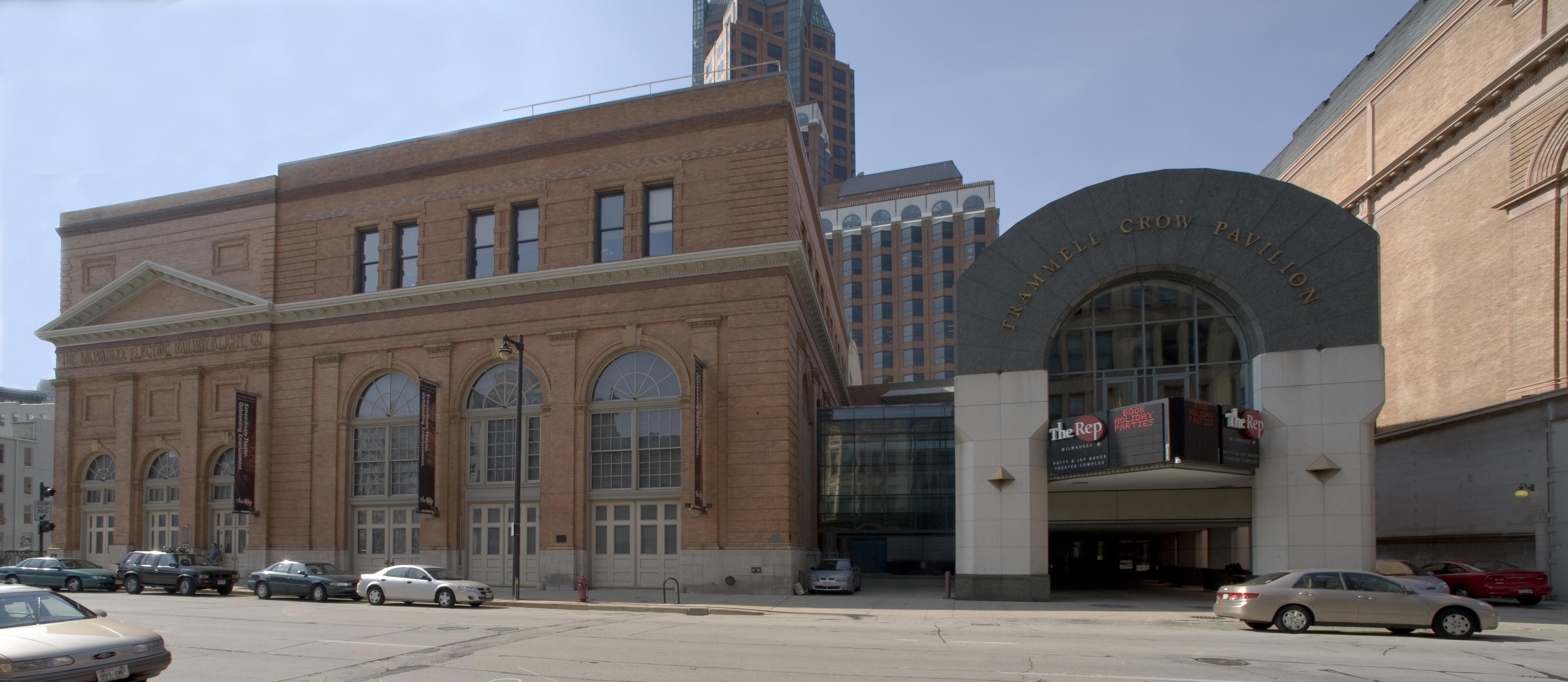 Milwaukee Repertory Theater logo