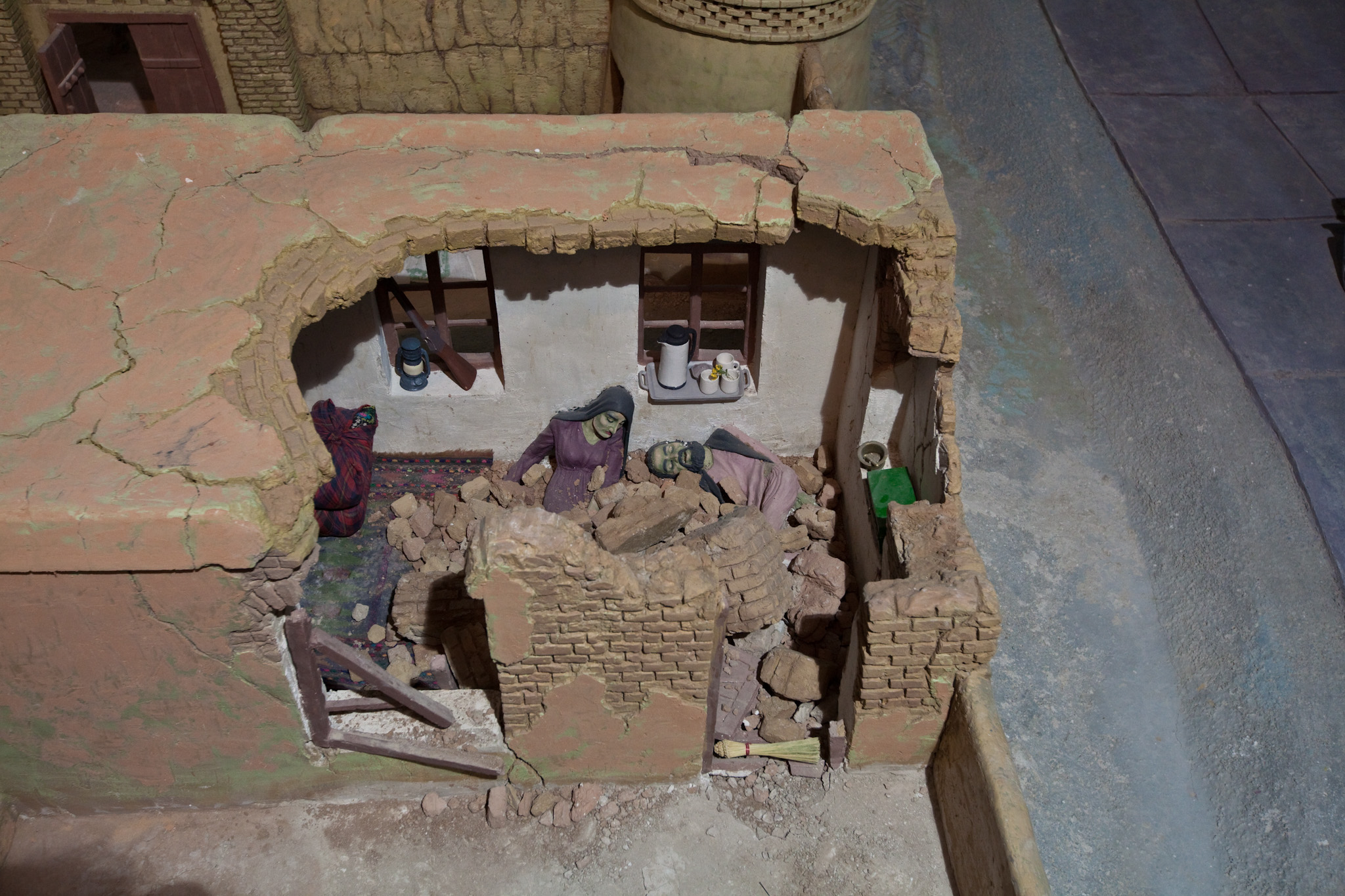 Diorama In The Living Room