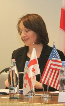 Minister of Environment Khatuna Gogaladze (2013).jpeg