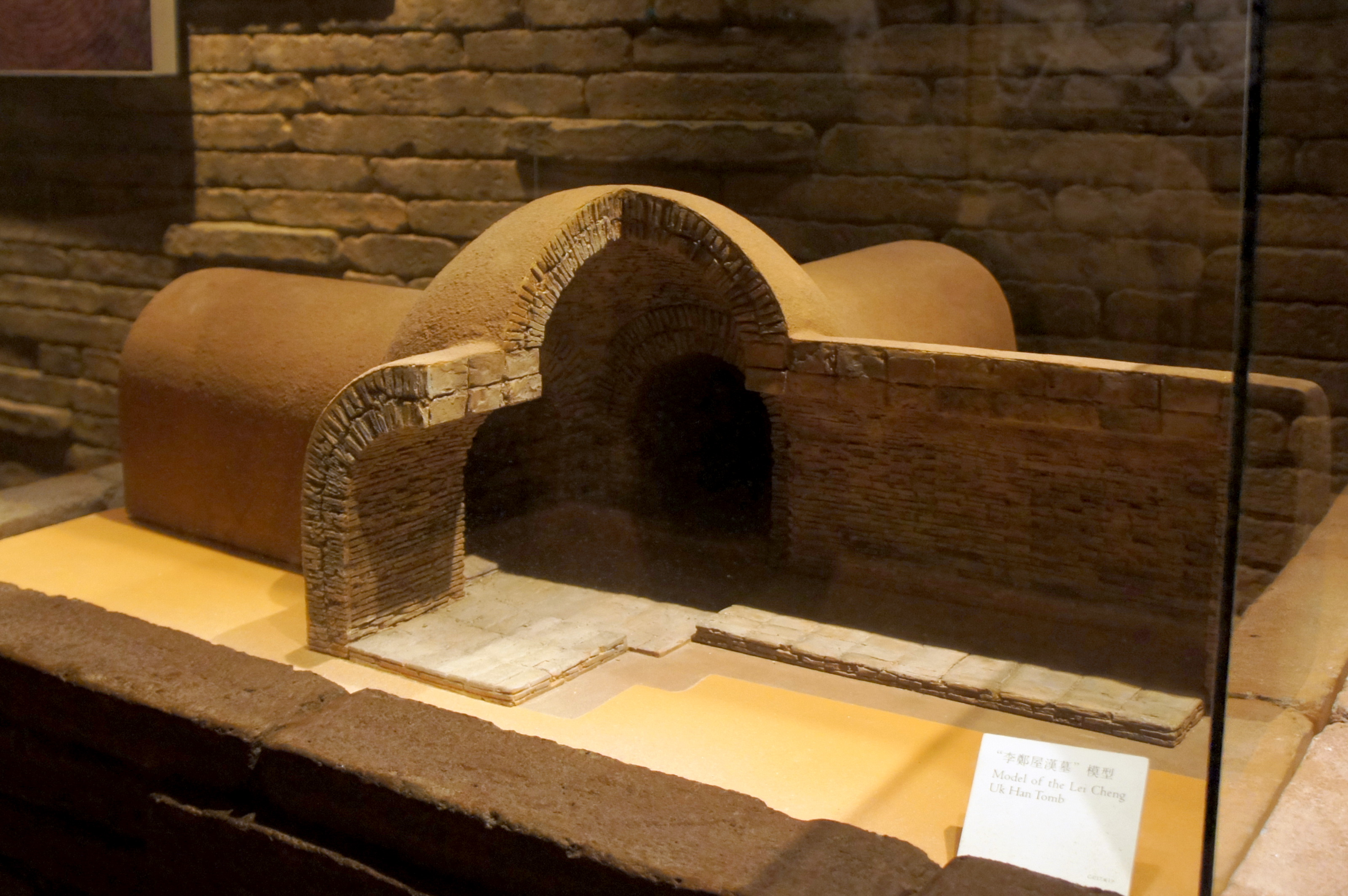 File:Model of the Lei Cheng Uk Han Tomb ...