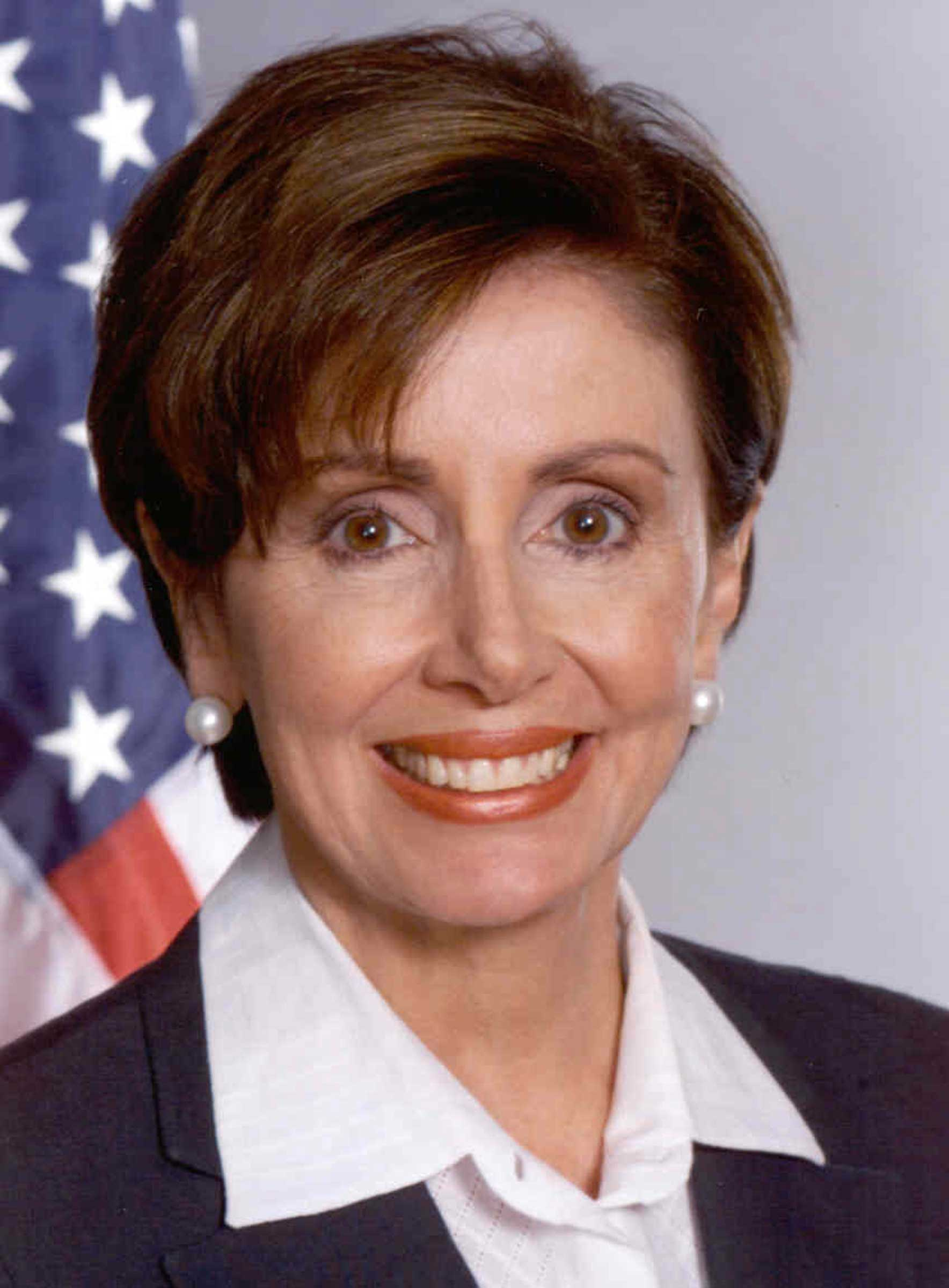 Descrizione Nancy Pelosi Official Portrait