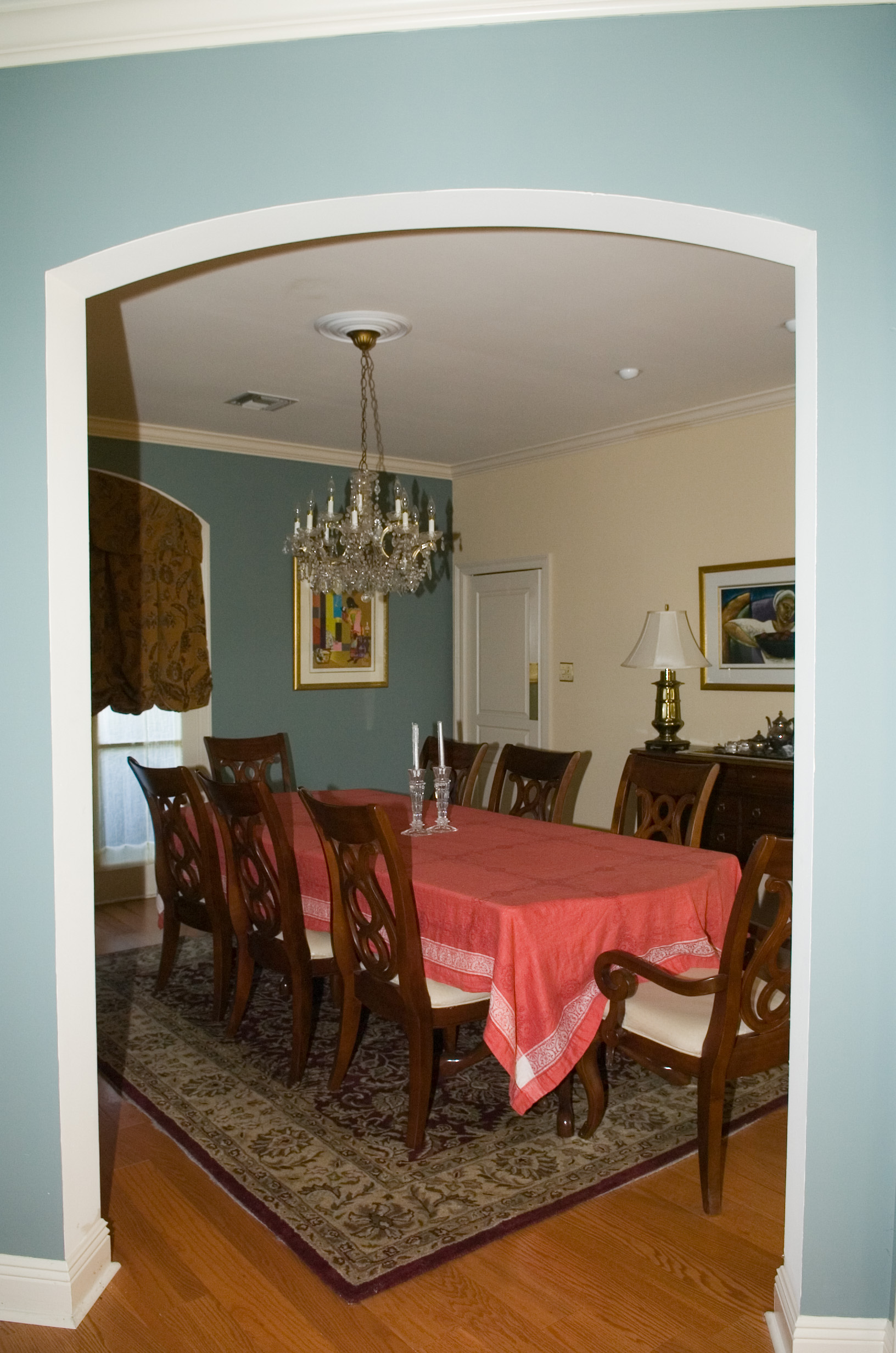 Turn Dining Room Into Readnig And Music Room
