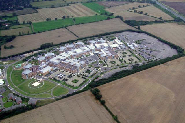 Norfolk and Norwich University Hospital, a National Health Service hospital.