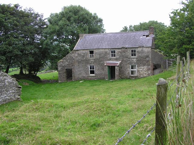 File old farmhouse at fallagh middle for Old homes for sale in england