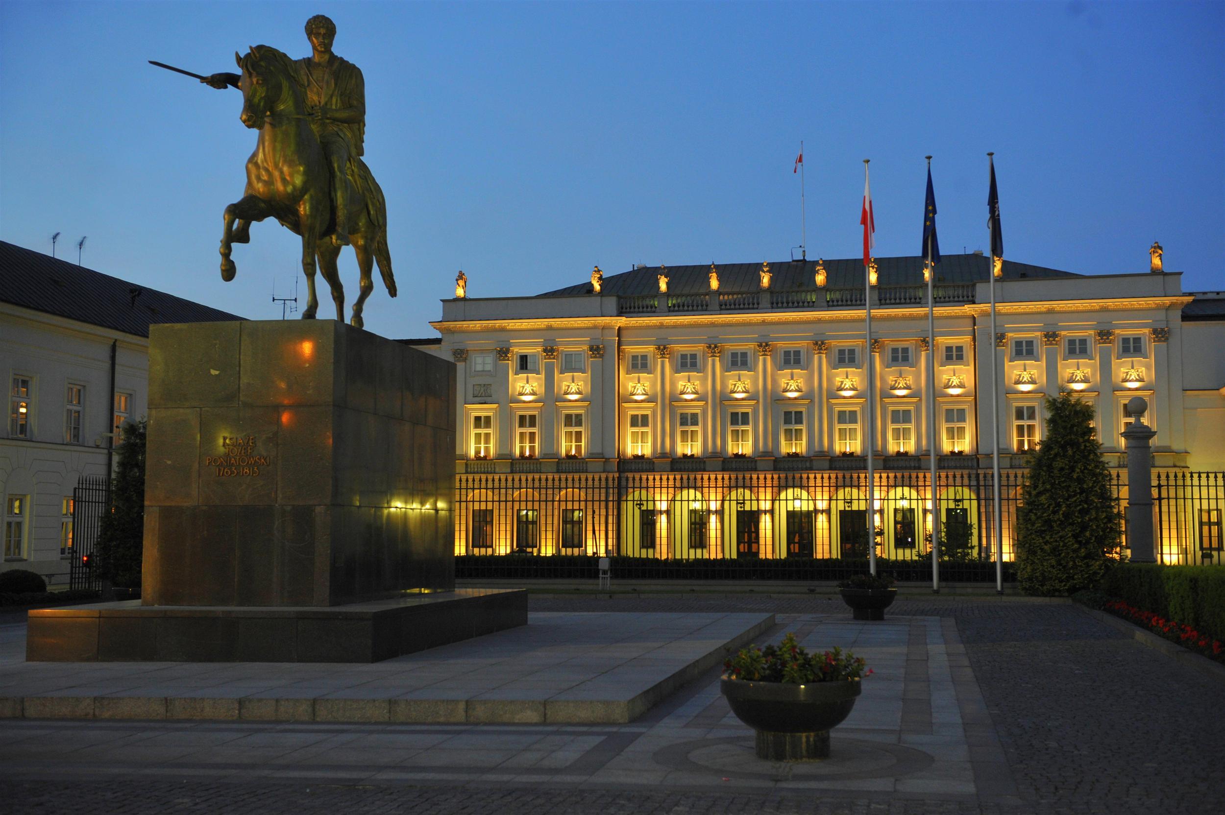 Pałac Prezydencki w Warszawie // wikipedia.org