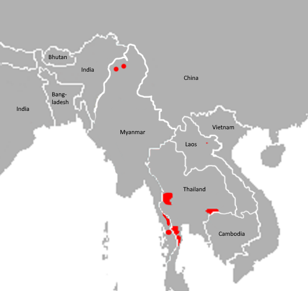 Tiedosto:Panthera tigris corbetti distribution map.png