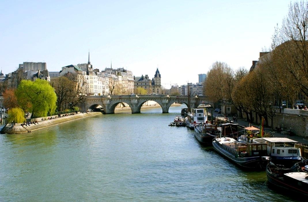 File paris seine river and pont neuf ile de la cit jpg for Le jardin hivernal du off paris seine