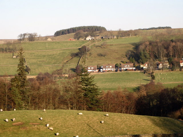 Pastures near Thornley Gate - geograph.org.uk - 680677