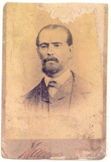 Depiction of Pedro Figueredo