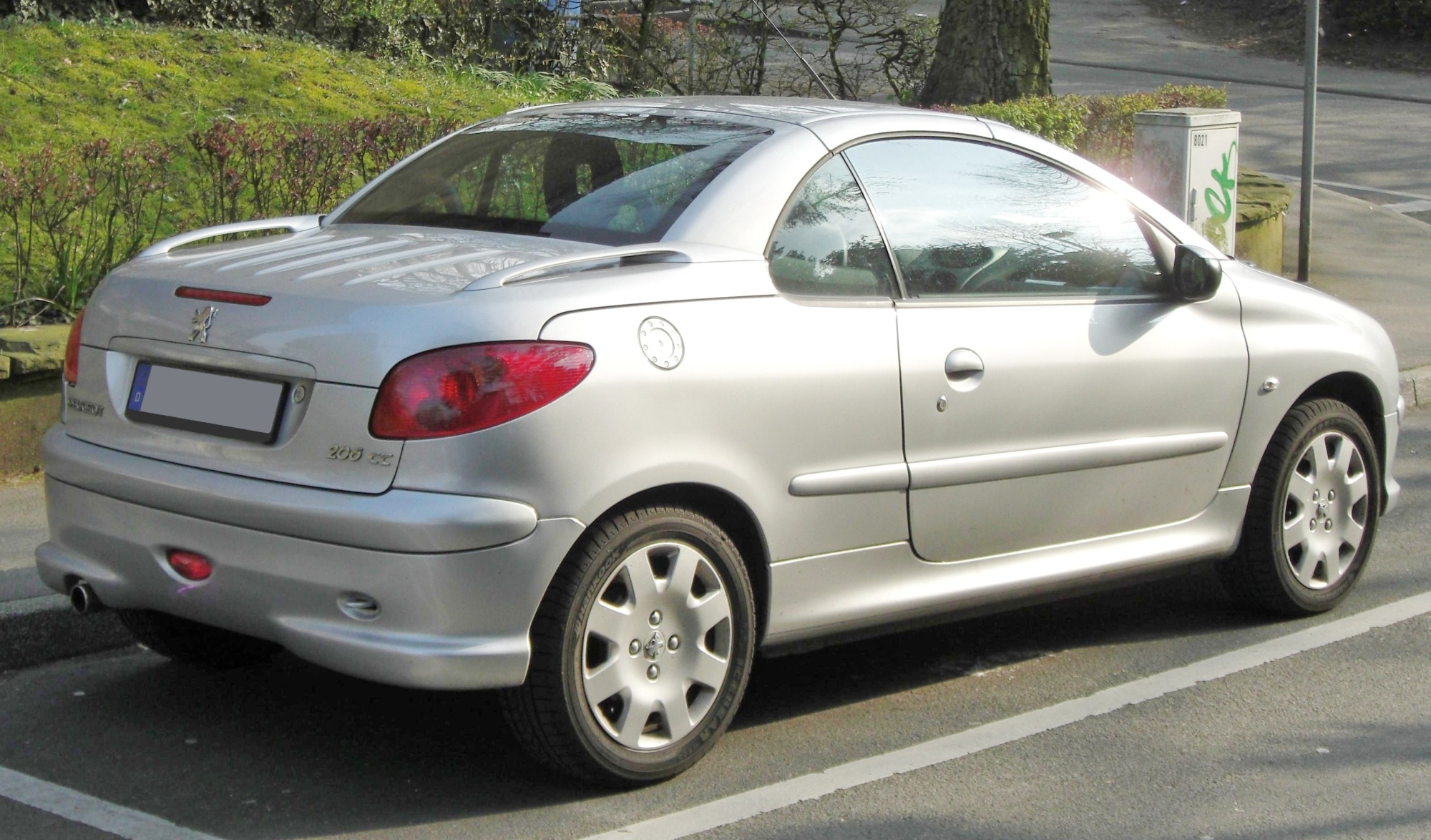 file peugeot 206cc facelift wikimedia commons. Black Bedroom Furniture Sets. Home Design Ideas