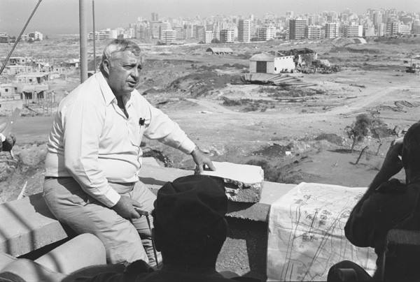 אריאל שרון בלבנון