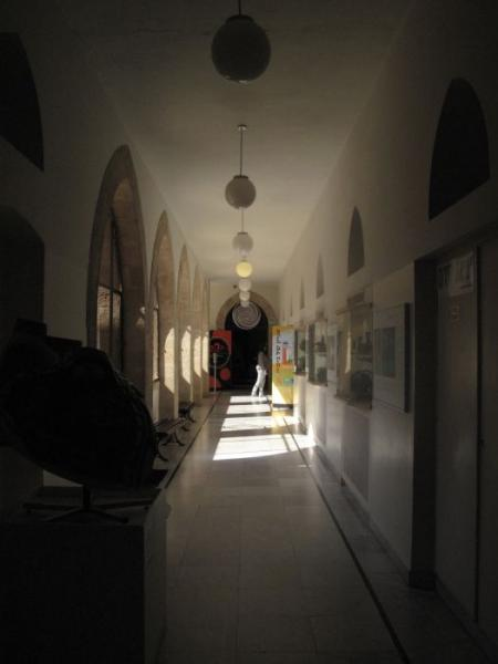 מסדרון במוזיאון המדע