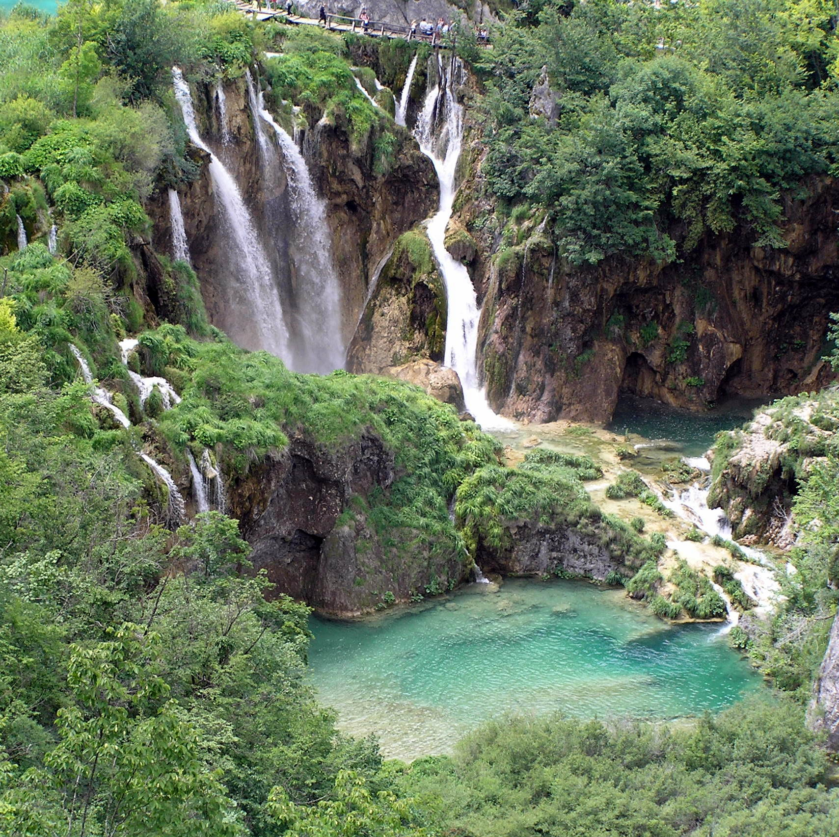 Camping Plitvice: Nationalpark Plitvicer Seen