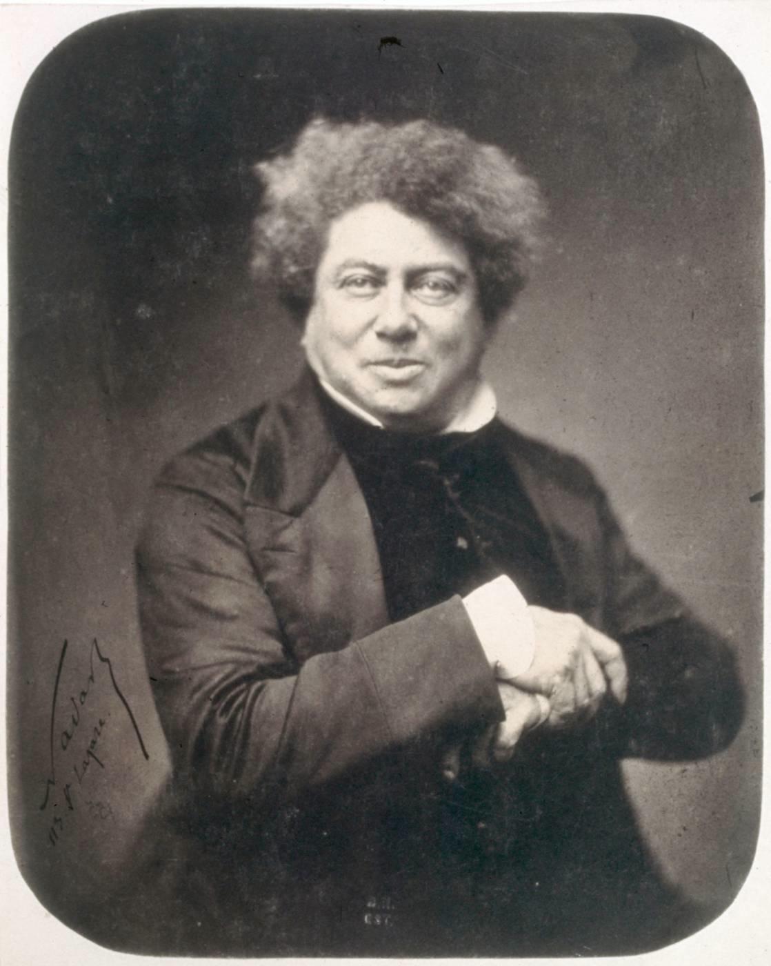 Resultado de imagen de alejandro dumas Alexandre Dumas - Portrait d 27Alexandre Dumas par Nadar 2C 1855 - Alexandre Dumas
