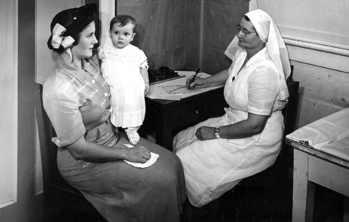 Queensland State Archives 1489 Illustrating activities of Mother and Child Welfare Service April 1950