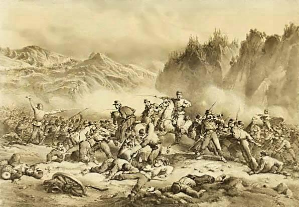 File:Ronchi (litografo), Battaglia di Lodrone, luglio 1866 (Battle of Lodrone, July 1866) (c. 1870).jpg