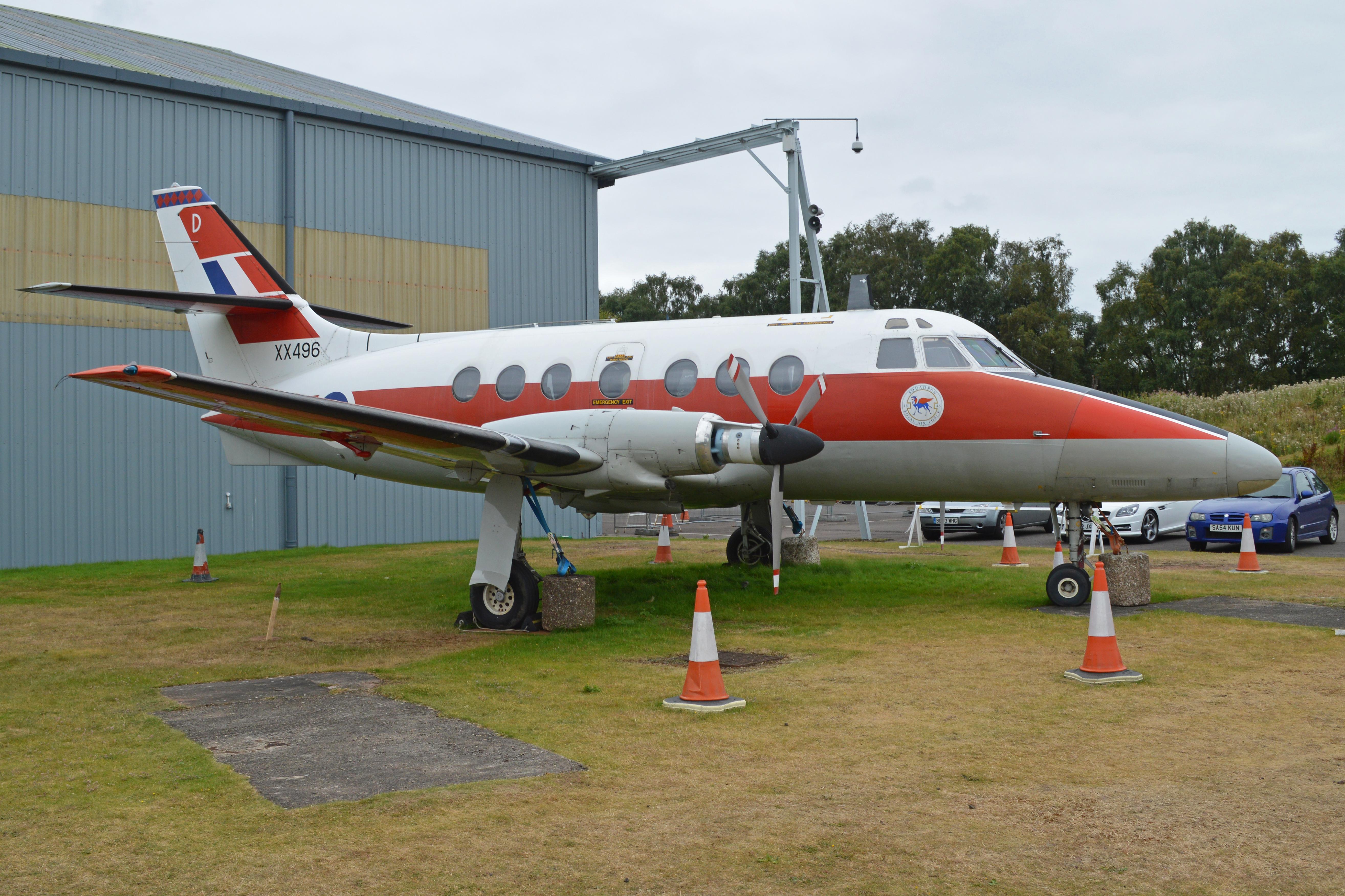 File:Scottish Aviation Jetstream T 1 'XX496 D' (36676524976