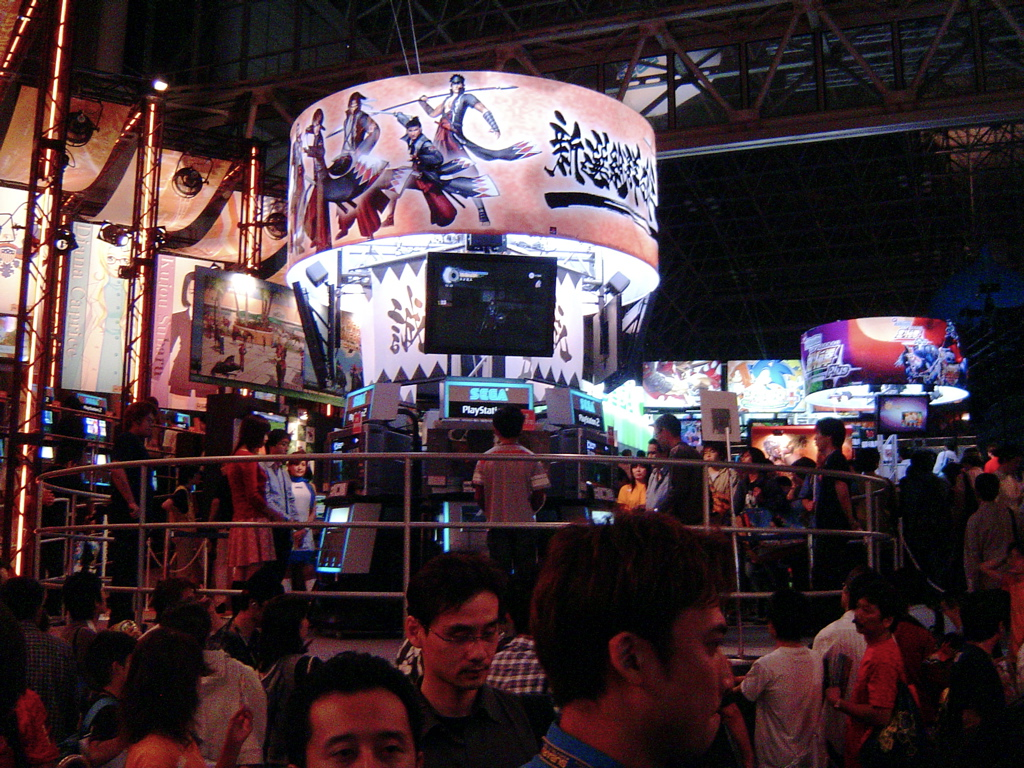 Exhibition Booth Wiki : File sega booth tokyo game show a g wikimedia