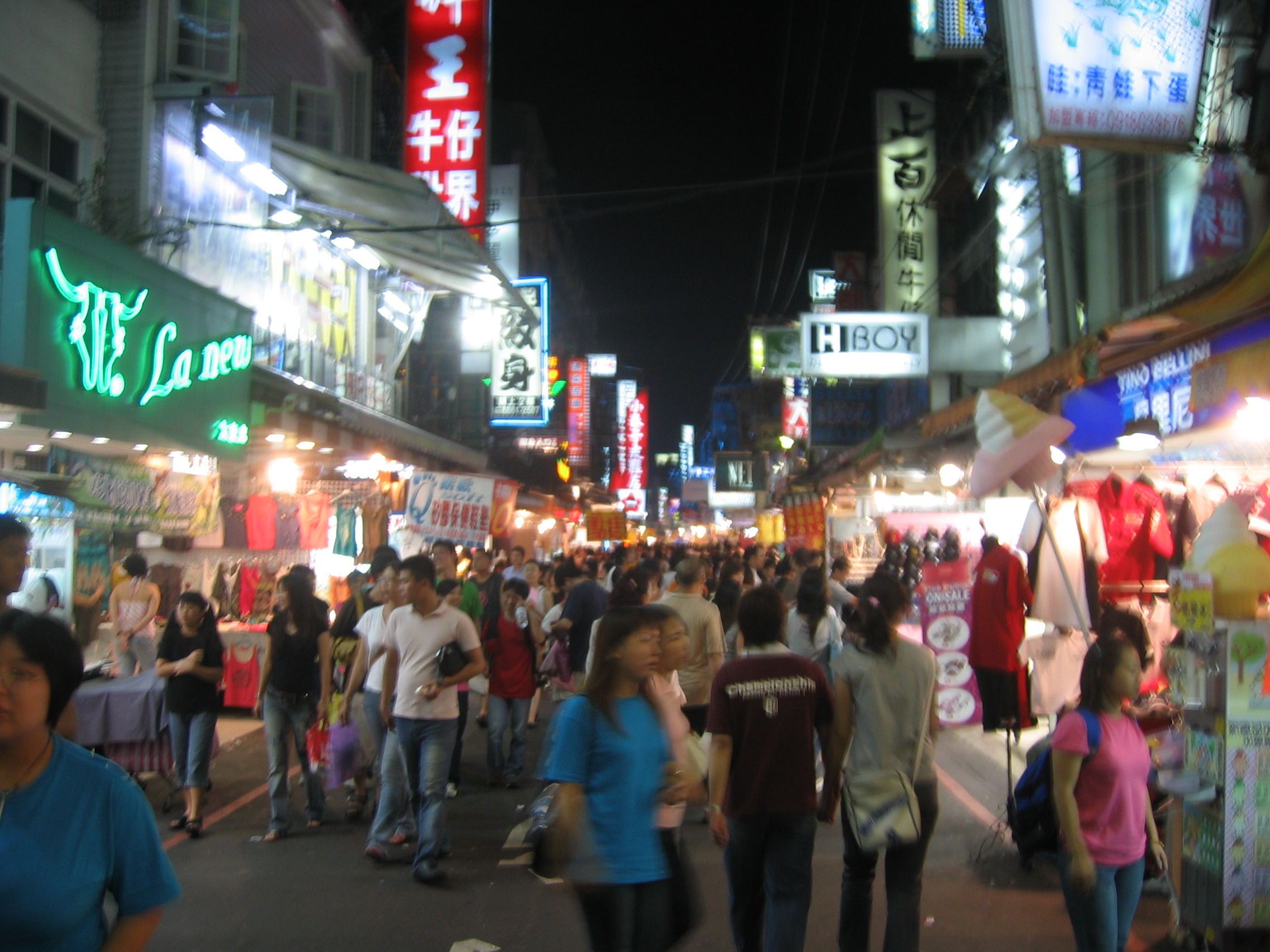 Sampling The Foods At The Night Markets In Taipei